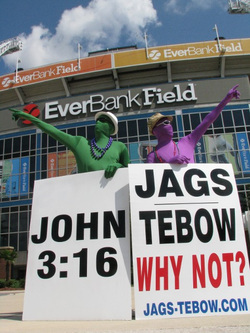 Jaguars' fans rally to Sign Tim Tebow