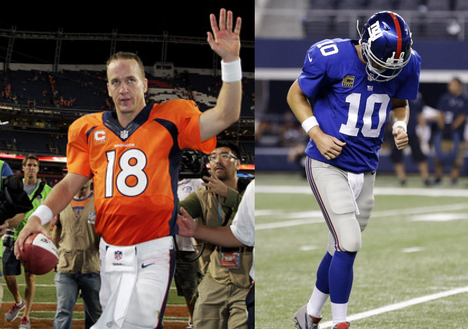 Tale of two Manning Brothers