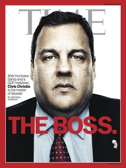 Chris Christie Boss Time Cover
