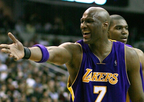 Lamar Odom Angry