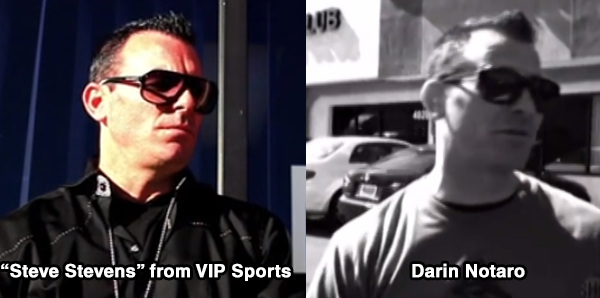 Steve Stevens AKA Darin Notaro of Money Talks Show